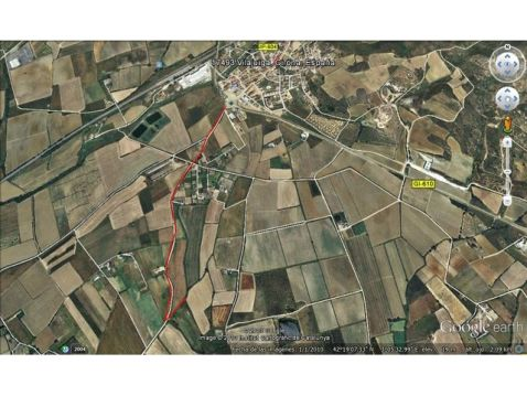 Rustic plot close to Roses, Costa Brava for sale