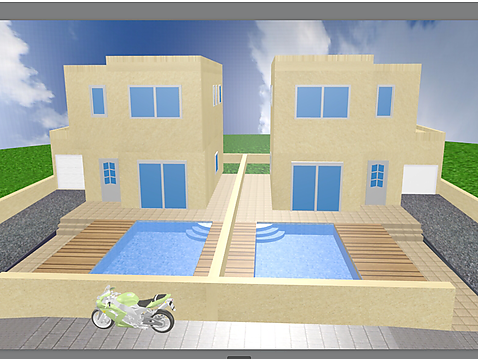 Maison de nouvelle construction, F4, piscine et garage