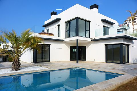 New build house in Cala Montgó