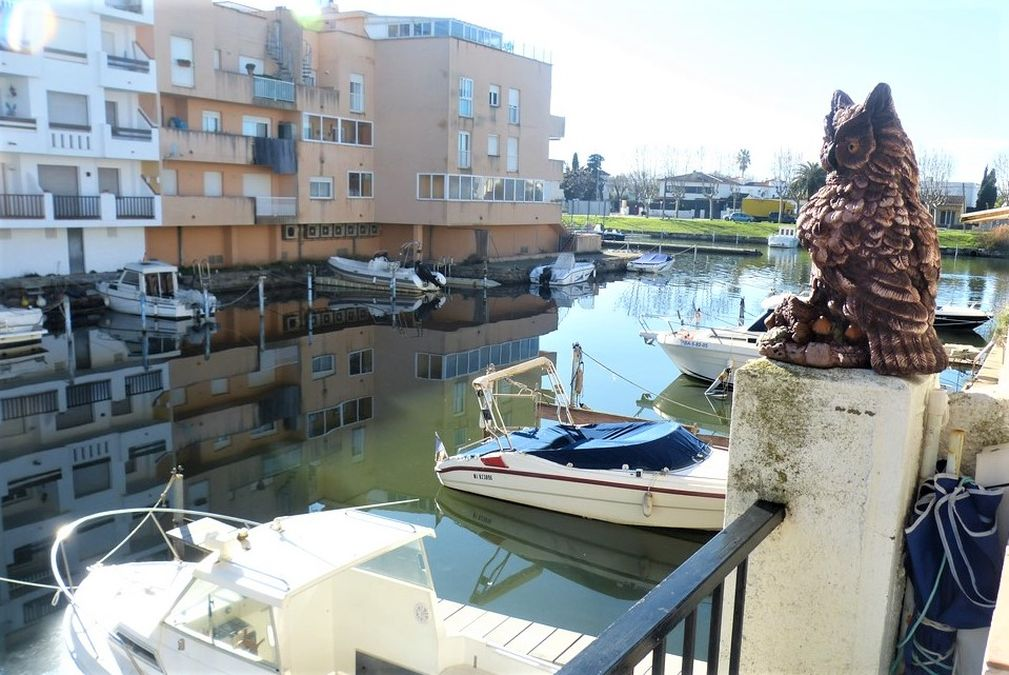 Bel appartement sur la Marina d'Empuriabrava et garage en option