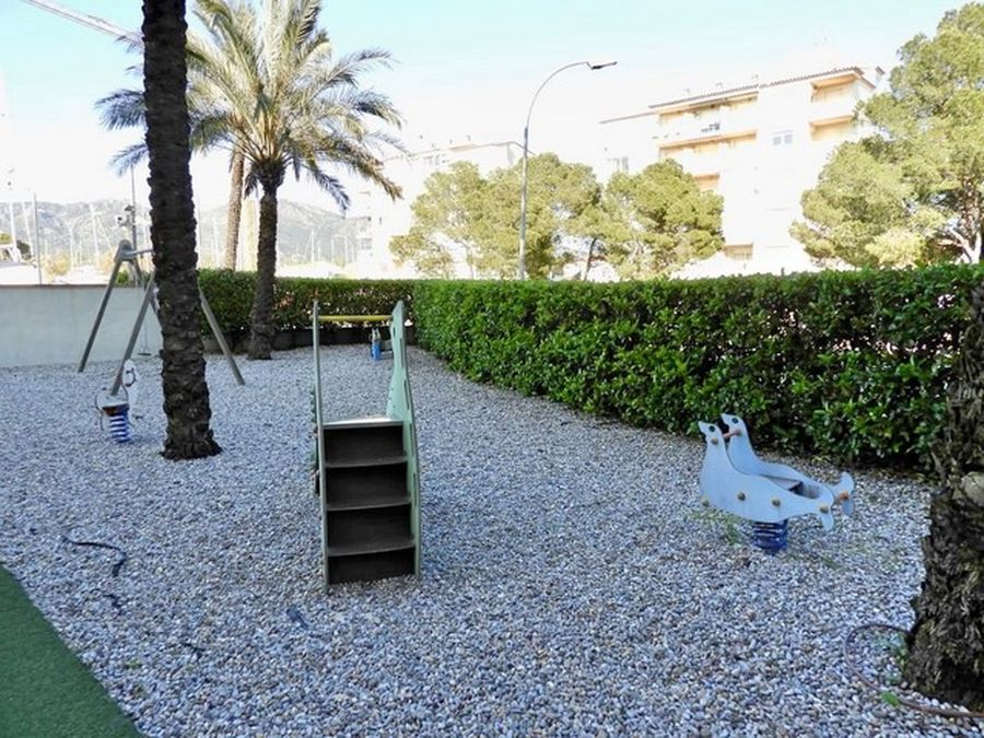 For sale modern apartment in a complex with pool and canal view with parking and